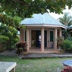 Our beachfront bungalow