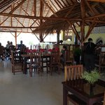 Lower restaurant near the pool