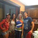 Con María y Mariano de Casa de Mar y Cecile turista holandesa