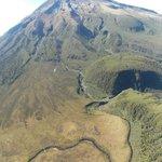Mt Taranaki from Heliview Tour