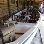 Clinker built whaling skiff