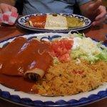 Enchiladas del maguey