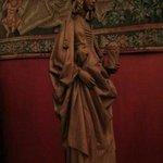 木彫 マグダラのマリア(フランス語ではマリー・マドレーヌ)