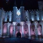 Palazzo dei Papi di notte