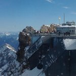 oversee German's side of the Zugspitze fromAustrian's side