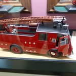 A large scale model of a fire appliance