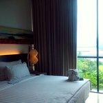 Room yang nyaman. So cozy...