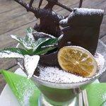Deliciously rich chocabella dessert