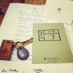 Key & post card