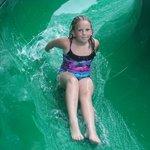 Water Slide in Camp Splash