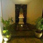 Relaxing atmosphere in hotel