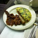 Hot breakfast choices $16.95pp
