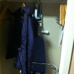 closet space with iron//board