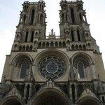 Vooraanzicht Kathedraal