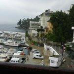 Vista do apartamento para o mar