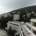 Hotel e vista da monbtanha