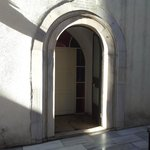 entrance to the hammam bath