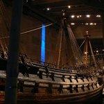 The 'Vasa' ship at the Vasa Museum