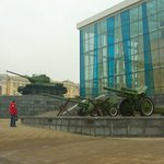 Kharkiv: outdoor military exhibition