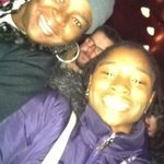 Lex and I enjoying Stomp at the Orpheum Theater
