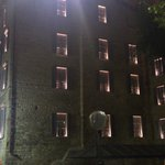 вид на здание отеля