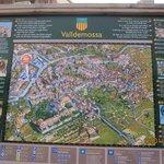 Вальдемосса. Карта.