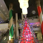 Foyer at Christmas