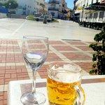 Drinkies on the terrace