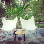 bungalow private terrace