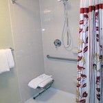Very clean, accessible bathroom
