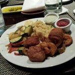 seafood platter.