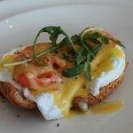 Egg Salmon Benedict