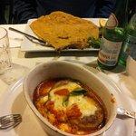 Melanzane alla parmigiano&Cotoletta alla Milanese