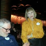 Our waitress Dawn, Disney service and storytelling, memorable!