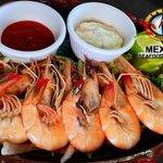 Fresh Shrimp garlic Sauce