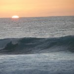 sunset in El Golfo