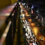 Aussicht von meinem Balkon aus dem 8. Stock