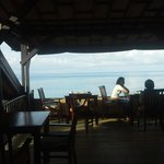 2nd floor of restaurant with sea view