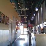 Inside view @ Crab Cake Cafe