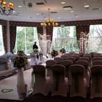 set out for civil ceremony, lakeside room