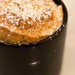 soufflé à la truffe (dessert)