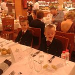 Aaron and Callum hogmany