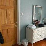 Garden room - attached bathroom (door locked)