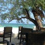 Resto on the beach