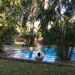 Espace piscine aérer