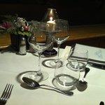Bonne table pour dîner