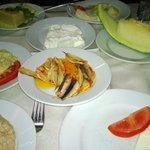 Our meze selection at Imroz