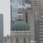 Indiana State Capitol Building as seen from room