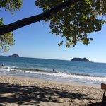 View on Playitas Beach