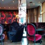 Die Lounge.
